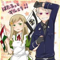 Prussia x Hungary by Hetaloid02