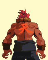AKUMA #A Alphabet Character Drawing Challenge by a7md93