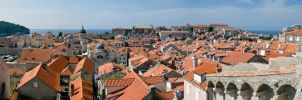 Dubrovnik panorama by DegsyJonesPhoto