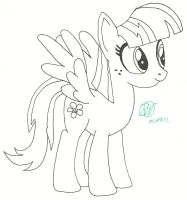 Blossomforth, Hoof Drawn 2 by Ratchet-Wrench