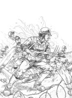 WWII Wolverine - pencil - by djinn-world