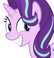 Starlight Glimmer Smile by Hendro107