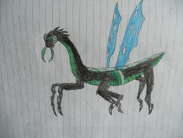 Changelings true form by LacitheHunter