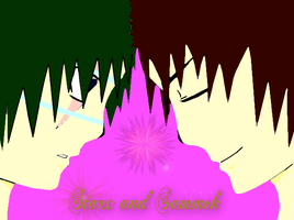 Starx and Sameek (Colored) by PenelopeXdg