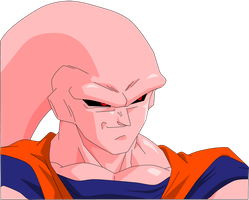 Super Gohan Buu Smiling by Yholl
