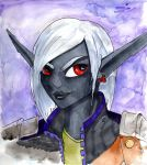 Shayde the Drow sketch by xoes