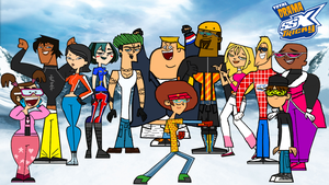 Total Drama SSX Tricky Cast Photo by ThunderFists1988