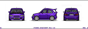 Ford Escort RS 2000 by EC-designs