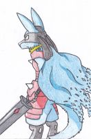 Lucario Knight Color by ToaEnemis