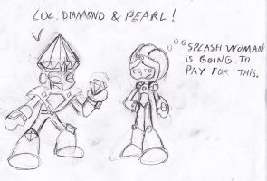 Pearl Woman Blind Date by Sonic-chaos