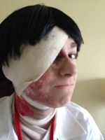 Injured Marco makeup by MagicalPouchOfMagic
