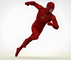 The Flash 2nd skin textures for M4 by hiram67