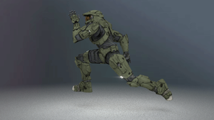 Master Chief Run Cycle by Dekanuva