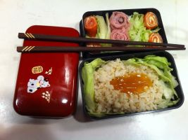 My Bento Lunch by KonekoKaburagi