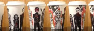Katniss's Fault Coffee Cup by evanesce24