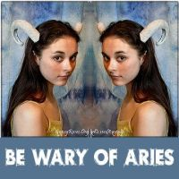 Be Wary of Aries Horns, Custom by che4u