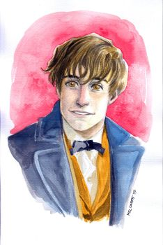 Newt Scamander by melcasipit