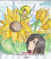 If I could be a sunflower by LilyAngelPhoenix