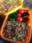 I Love Lunch Steak Fried Rice Bento by Demi-Plum