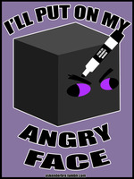 Enderbro's Angry Face by The-Greys