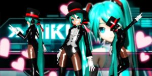 Miku Miracle Paint Dt by GrayFullbuster21