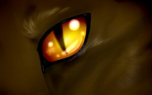 The eye of a Leader by Spottedfire-cat