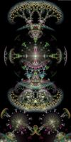 Branching Fractal Thing by mynameishalo