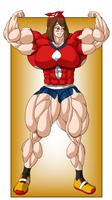 Commission - May Muscle Growth (5/6) by FudgeX02