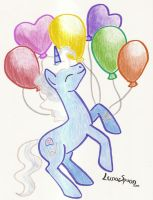Pokey's Balloons by LunarSpoon