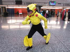Go Go Tomago - Montreal Mini Comic Con 2015 by J25TheArcKing