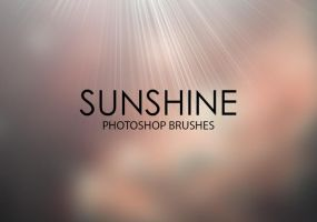 Free Sunshine Photoshop Brushes by justin9090bqc