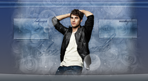 Header Darren Criss - Portfolio by DarkVisuals