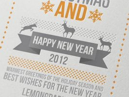 Merry Christmas Card 2012 by Lemongraphic