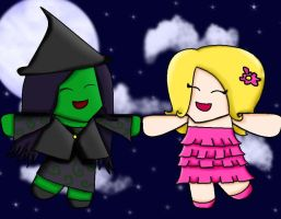 Wicked fanart by Joy-Pedler