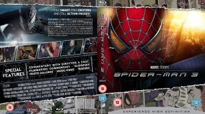 Spider-man 3 Blu-Ray cover by MrPacinoHead