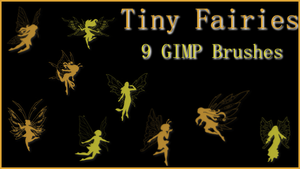 GIMP Tiny Fairies by Illyera