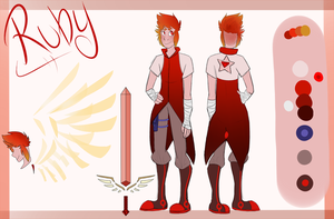 .:OC:. Ruby - Gemsona Redesign by raumkind