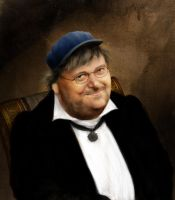 MICHAEL MOORE the KING by Neizen