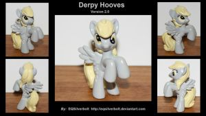 Derpy Hooves version 2 and Charity Raffle! by EQSilverbolt