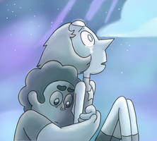 Steven and Pearl by Peachie5000