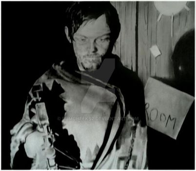 NORMAN REEDUS (DARYL DIXON) THE WALKING DEAD by BUMCHEEKS2