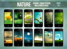 Nature iPhone/Smartphone Wallpaper Pack Part 1 by limav