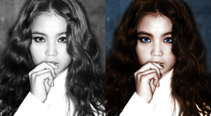 Lee Hi, colorization by Shantellee