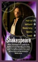 TOP TRUMPS DW Shakespeare Card by njr75003