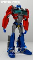 My version of optimus prime by doctorcocolia