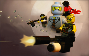 Lego TF2 RED Startup Screen by Bleu-Ninja