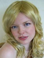 Blonde Wig Stock 3 by chamberstock