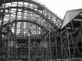 profile of a wooden coaster by jakehosmer