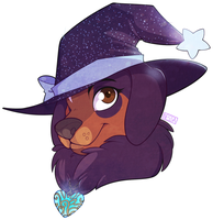 Rottie. - Commission by strawberryneko33