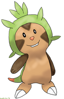 Chespin by Combat-Bun